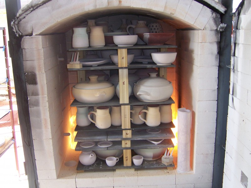 Dave S Homemade Hand Built Gas Kiln Dave Ameika Pottery