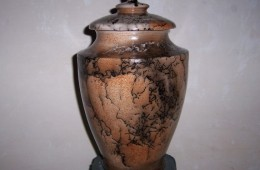 Horse Hair Lidded Jar