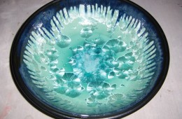 Large Crystalline Bowl