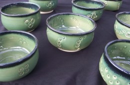 Portion Of Empty Bowls Donation