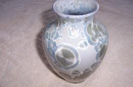 Small Zincite Crystalline Vase