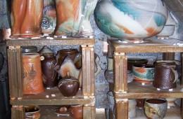 Unloading the Soda Kiln at Pottery West