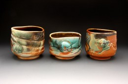 Three, Soda Fired Bourbon Bowls