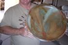 Large Shino Platter